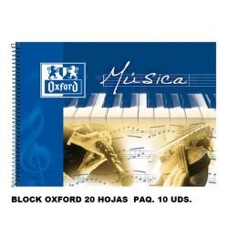 Block Musica Oxford Fº
